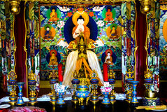 Buddhist Shrine Buddha Houhai Beijing China Royalty Free Stock Photo