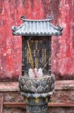 Small buddhist shrine in vietnam Stock Photos