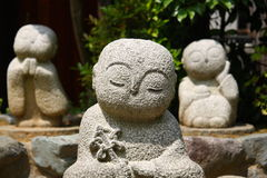 Small buddhist statues Royalty Free Stock Image