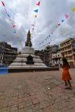 Small Buddhist stupa inKathmandu, Nepal Royalty Free Stock Image