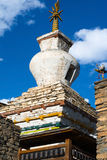 Small Buddhist stupa in Nepal Royalty Free Stock Images