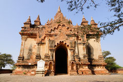 A small Buddhist temple in Bagan, Myanmar Stock Image