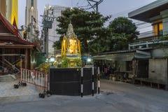 A small buddist temple in Bangkok Royalty Free Stock Photo