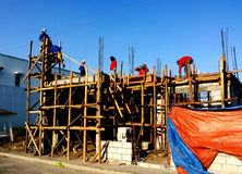 Small Building Construction Stock Image