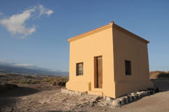 Small Building on the Desert Royalty Free Stock Images