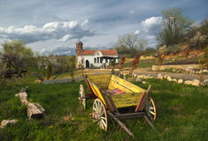 Small bulgarian monastery Royalty Free Stock Photos