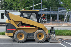 Small Bulldozer. Small equipment at construction site Stock Images