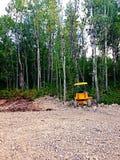 Small bulldozer Royalty Free Stock Photography