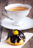 Small bundt cake Stock Photography