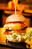 Small burger Stock Images