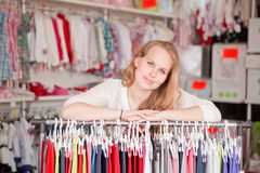 Small business. Shop owner woman Stock Photo