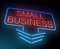 Small business concept. Stock Photo