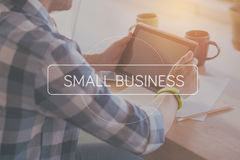 Small business concept Stock Images
