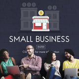 Small Business Entrepreneur Investment Marketing Management Concept royalty free stock photo
