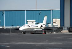 Small business jet Stock Photography