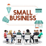 Small Business Niche Market Products Ownership Entrepreneur Conc. Ept Stock Photography