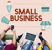 Small Business Niche Market Products Ownership Entrepreneur Conc Stock Photography