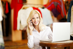 Small business owner Stock Images