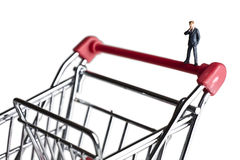 Small business shopping for capital Stock Photo
