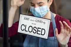Small business in shutdown for covid-19