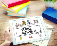 Small Business Strategy Marketing Enterprise Concept Stock Image