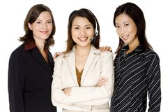 Small Business Team Stock Image