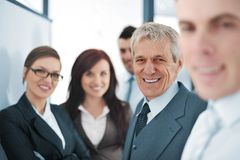Small business team in the office Stock Photos