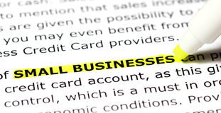 Small Businesses Stock Photos