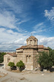 Small Byzantine church in Athens, Greece Stock Photography
