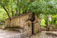 Small Byzantine church of Saint Theodora Royalty Free Stock Images