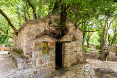Small Byzantine church of Saint Theodora Royalty Free Stock Image