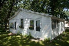 Small Cabin in Iowa Stock Image