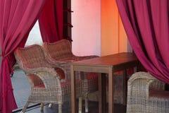 Small cafe Royalty Free Stock Photos