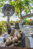 Small cafe in tropics, lounge area Royalty Free Stock Image