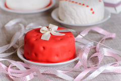 Small cake Royalty Free Stock Photography