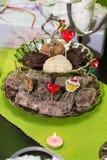 Small cakes Stock Photos