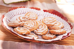 Small cakes - sweets Portuguese Royalty Free Stock Photos