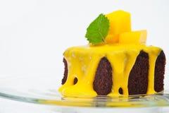 Small cakes with vanilla Royalty Free Stock Photography