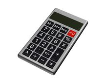 Small calculator Royalty Free Stock Photography