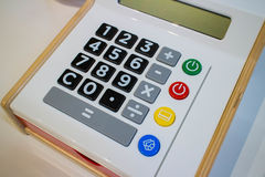 Small calculator for Kids Stock Photography