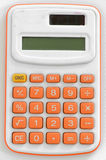 Small calculator. For your business Royalty Free Stock Photography