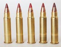 Small caliber cartridges Stock Photography