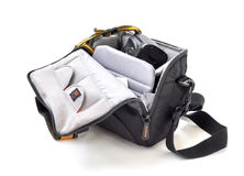 Small camera bag Stock Photos