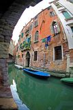 Small Canal of Venice royalty free stock image