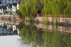 Small canal of Suzhou, China Royalty Free Stock Photography