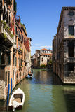 Small canal at Venice Royalty Free Stock Photography