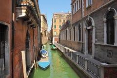 Small canal. Venice, Italy. Stock Photos