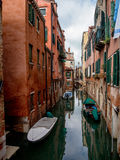 Small canal in Venice, Italy. Stock Images