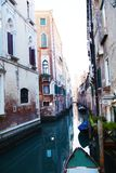 Small canal in Venice, Italy Royalty Free Stock Photography