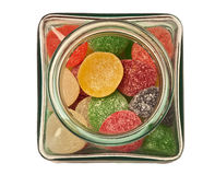 Small candy jar Stock Photography